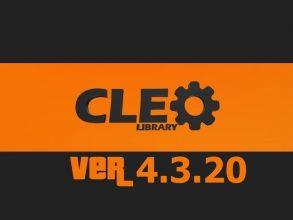Cleo v4.3.20 для GTA San Andreas