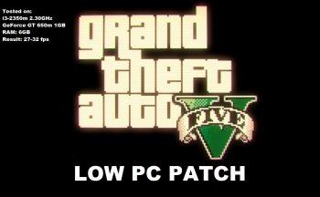 GTA 5 для слабых пк