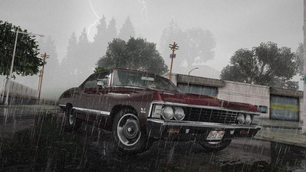 Мод на улучшенную графику в GTA San Andreas