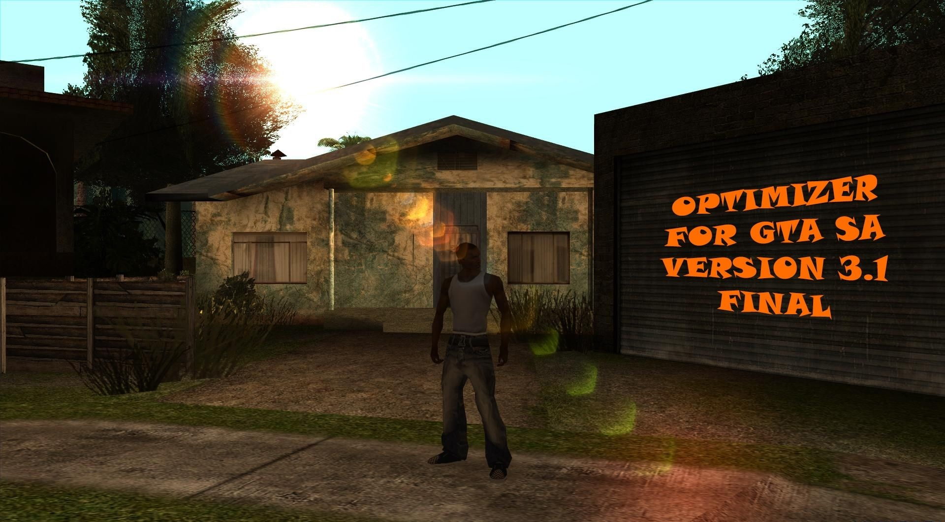 Optimizer for GTA SA v3.1 FINAL