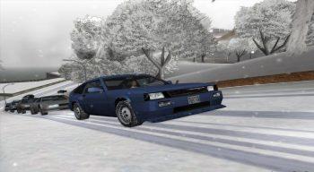 Snow-Andreas v5.0 - Зимний мод для слабых ПК