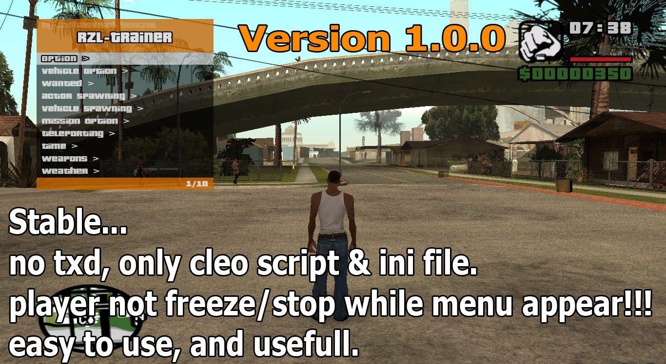 RZL-Trainer version 1.0.0