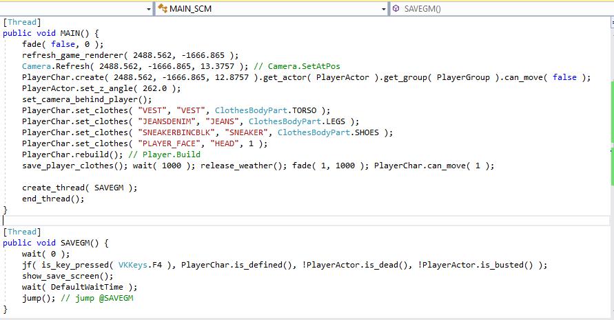 GTA Script Generator 4.2b