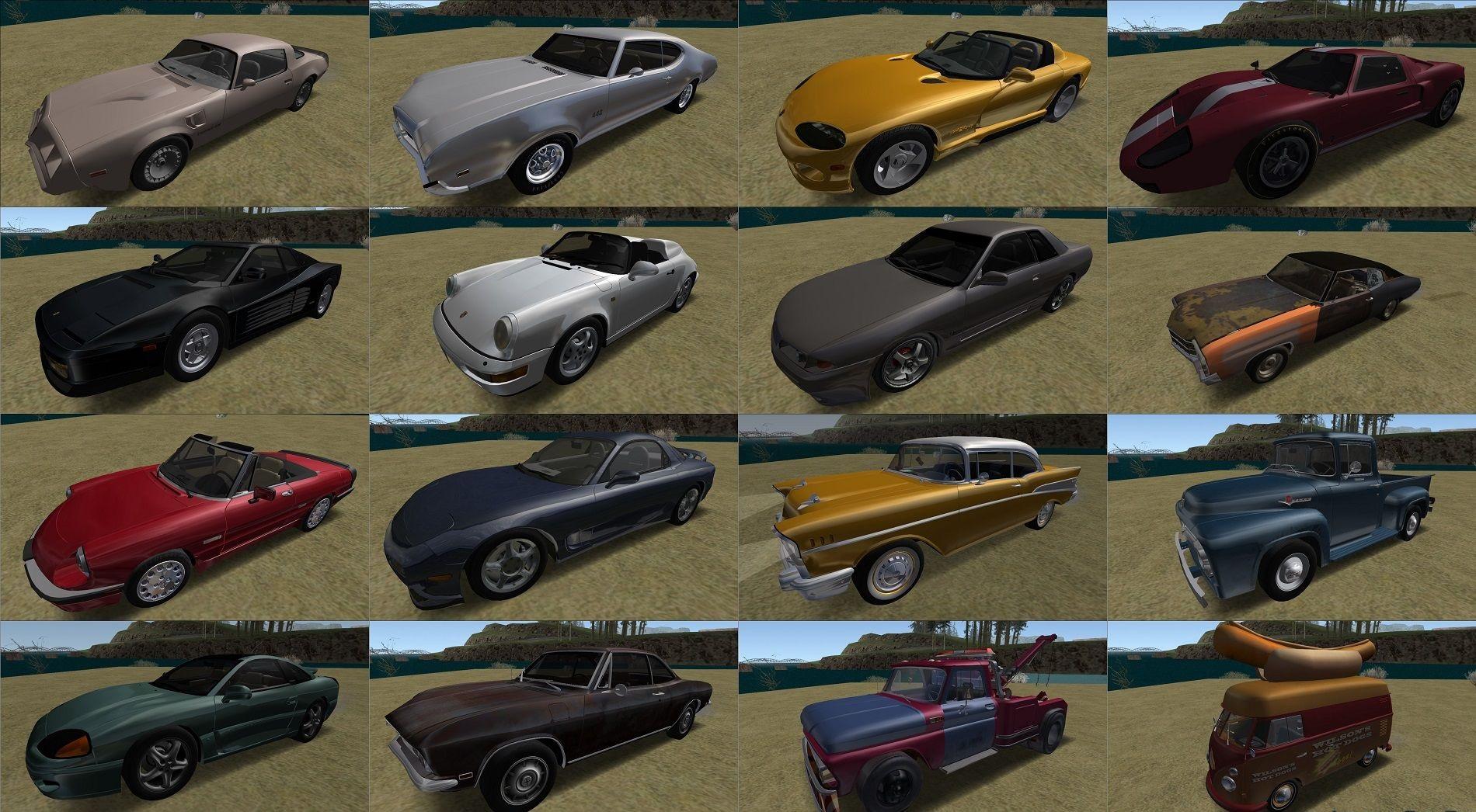 90s Atmosphere Vehicle Pack Reborn 3