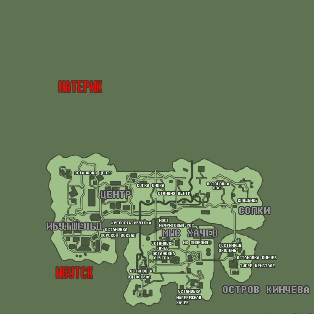 Карта Russian Theft Auto - final 1.0